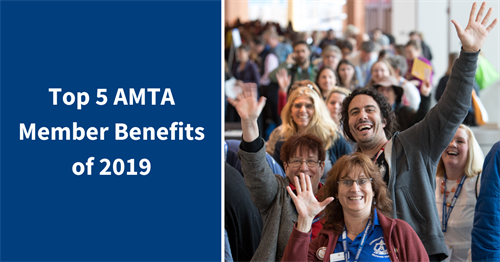 Top five AMTA member benefits